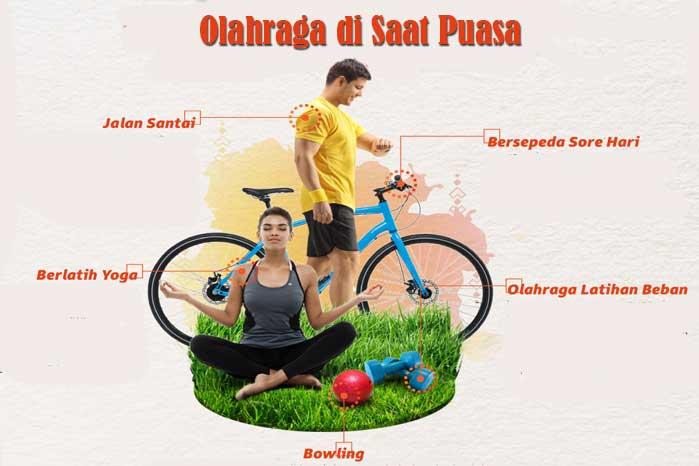 Olahraga di Saat Puasa