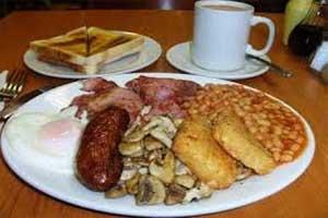 Sarapan pagi ala Inggris